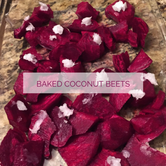 BAKED COCO BEETS