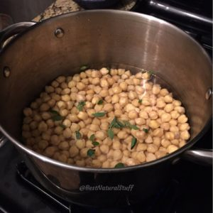 Chickpeas with Oregano