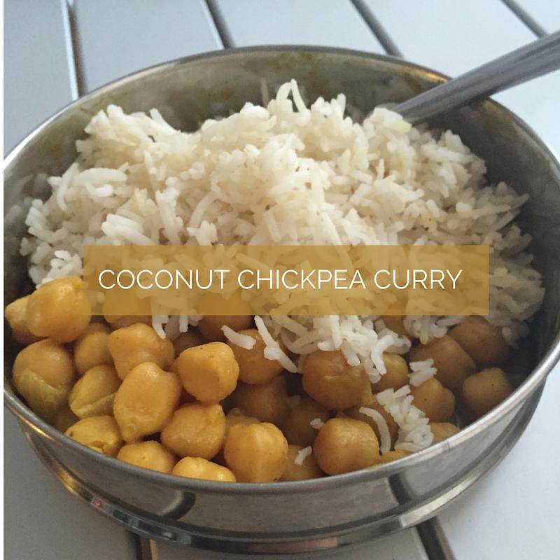 Coconut Chickpea Masala