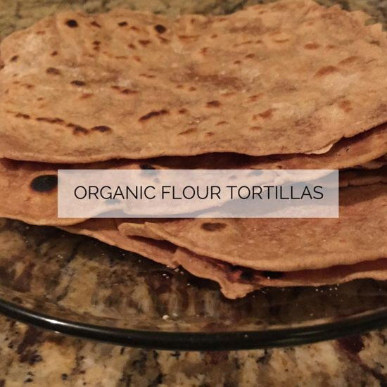 Organic Wheat Tortillas