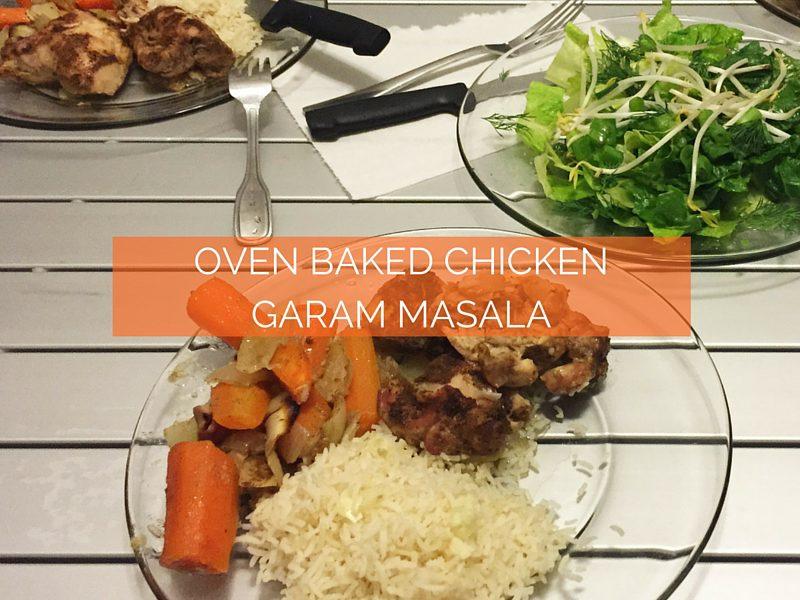 Oven Baked Chicken Garam Masala