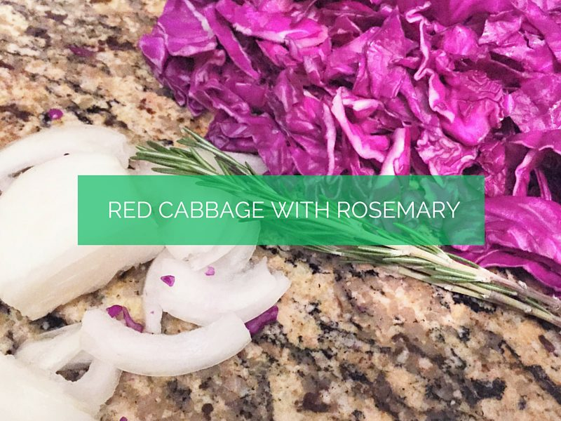 Rosemary Red Cabbage
